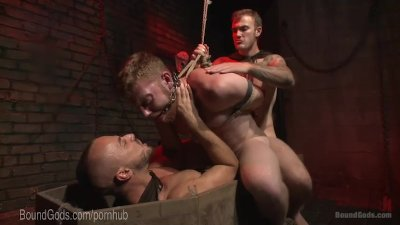 Demon Dick Dominates Helpless Hunk