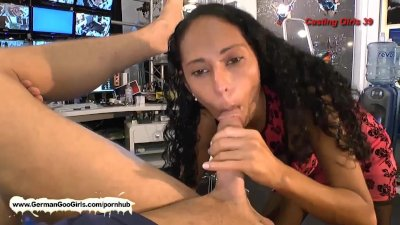 Exotic babe loves to lick ass before getting her mouth full of cum