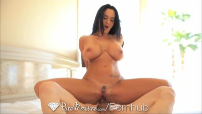 Pure Mature MILF's massive tits fucked by a big dick
