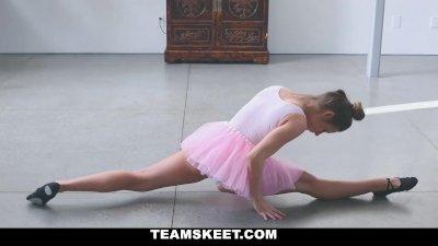 TeamSkeet- Tiny Ballerina Fucks Her Instructor!