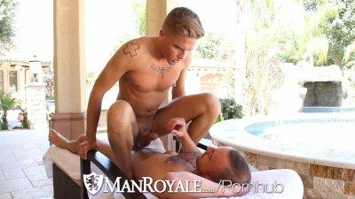 ManRoyale - Felix Warner Rides Steve Vexxs Big Cock