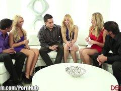 DevilsFilm 3 Swinging Blondes Swap Cocks