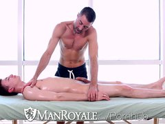 Scottie McWilliams Gets Pounded After a Massage From Justin Beal