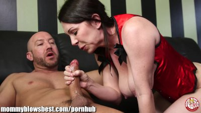 MommyBB Busty mom drinking over a cheating boyfriend!