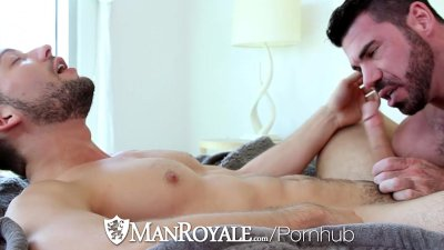 ManRoyale - Buff Buddies Kyle Kash and Billy Santoro Fuck