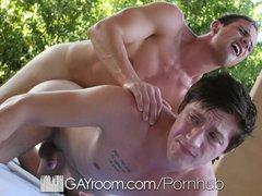 GayRoom   Logan Taylor Fucked by Hunk Zaq Wolfe