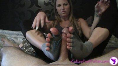 Yoga Sock Job