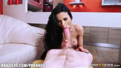 Brazzers - Hot milf Shalina Devine takes some big dick