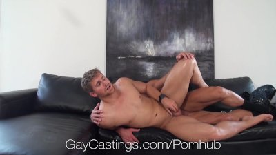 HD GayCastings - Muscular texas boy fucked on casting couch