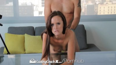 HD CastingCouch-X - Jayden Taylors gets her pussy wet to get casted