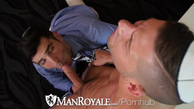 ManRoyale - Andy Banks Fucks Gentile Andy Banks on Passover