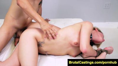FetishNetwork Abby Paradise bound blonde for casting