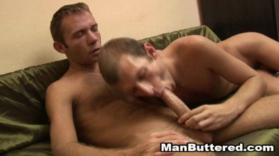 Barebacked Gays Sex Lover With Messy Cumshots