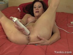 Mature naked blonde wife in bed gets her pussy fingered - YouTube XXX