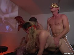 MAGMA FILM German Masquerade Swingers Party