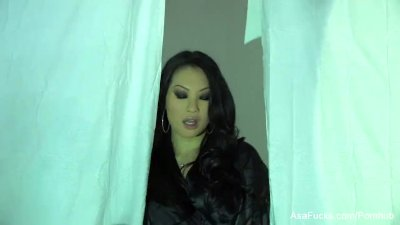 Asa Akira Plays With Her Wet Pussy And Tight Ass