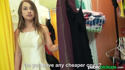 Mofos  Perv films teen in the changing room