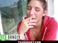 Abella Danger Wants to get Gang-banged!