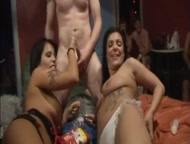 British swingers club party gangbang