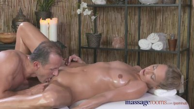 Massage Rooms Tall horny blond