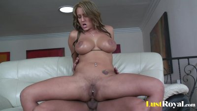 Perfect view of a pierced puss Trina Michaels
