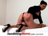 A boy with plumper amateur mom Danica cunnilingus