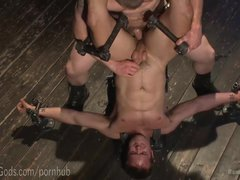 Metal Bondage Anal Torture