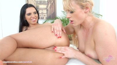 Photo memories by Sapphic Erotica - Kyra Queen and Brittany Bardot lesbians