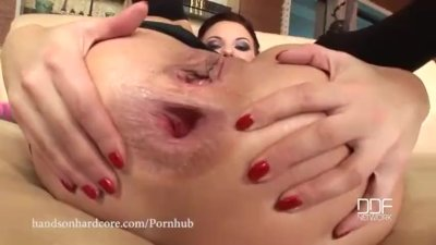 Caveman Delivers his Gigantic Cock up Her Ass