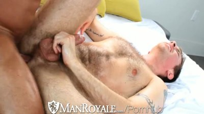 ManRoyale - Zachary Perry & Alex Woods Rub and Fuck