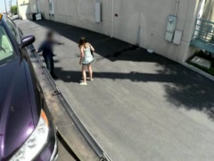 Bad Tow Truck   Ginger teen gets tow truck facial