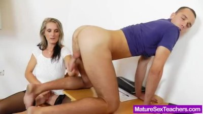 Charming Mony teaching a lesson in sexual intercourse