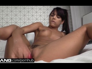 BANG Real Teens: Tiny Little Thing gets a POV Deep-Dicking