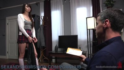 Spoiled Brat Dominated By Tutor