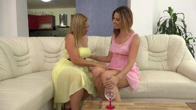 Blonde pissing lesbians love t