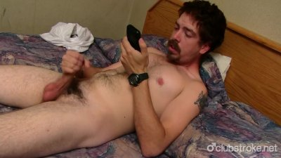 Sexy Straight Mike Jerking Off His Prick