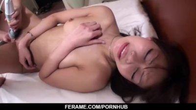 Japan wife, Yuri Aine, hard fucked in crazy hardcore