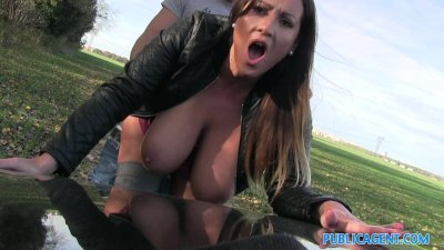 PublicAgent Massive hanging boobs from hungary