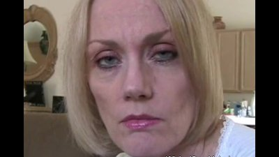 GILF Blows Her Stepson
