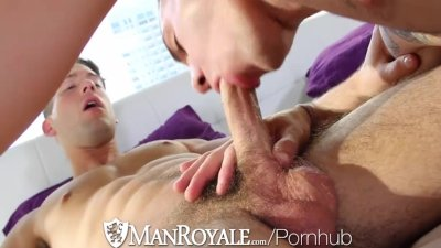 HD ManRoyale - Hot guy wants some hardcore action with his bf