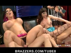 BRAZZERS LIVE SHOW 23 with Nicki Hunter  Claire Dames  Eva Angelina  Cytherea