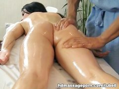 Nude chick and dirty massage porn movie