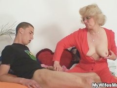 Mother in law fucks him and his wife ...