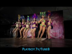 Visit the hottest Halloween parties with playboy TV