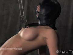 Cherie DeVille Bound in a Nipple Torture Predicament
