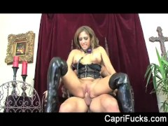 Capri Cavanni takes on Johnny s big cock