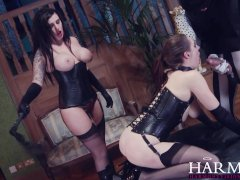 HarmonyVision Samantha Bentley huge cock anal threesome