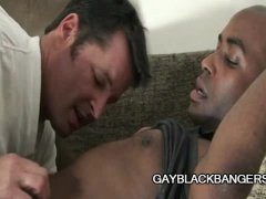KC and Caleb: White Guy Dominating A Black Ass