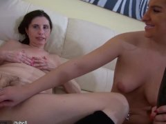 HOT Very Dirty Granny with her girlfr...