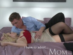 MOM Blonde dating single MOM just wants to feel a large dick inside